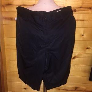 Men's ADIDAS Climalite Athletic Shorts Black